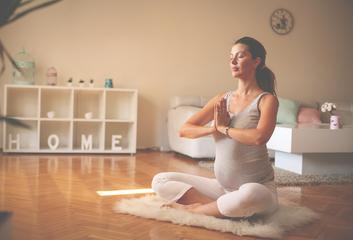 Gravidjóga – jóga pro těhotné ženy