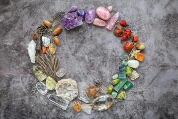 Minerály a čakry