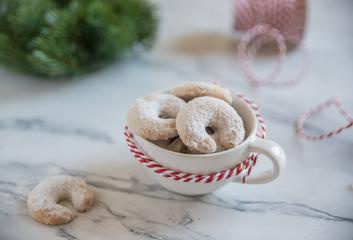 Vanilkové rohlíčky – základní recept