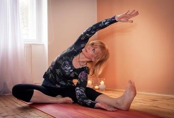 O životě s jógou .....Romana Klášterecká