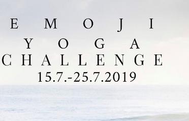 Emoji summer yoga challenge