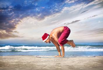Christmas yoga challenge