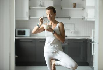 Jak jíst o Vánocích jako člověk praktikující jógu?