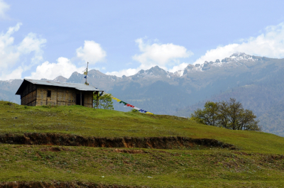 Brokpa Hut near Tawang