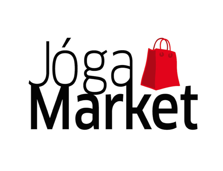 yoga market celá červená taška