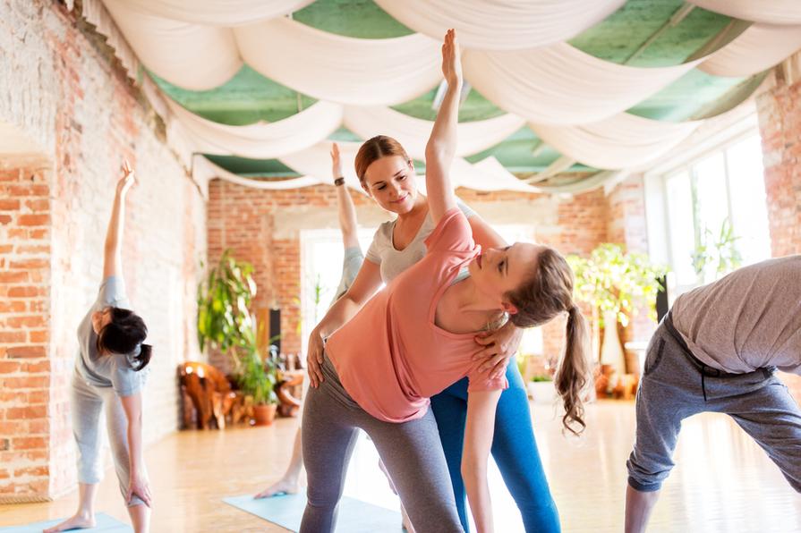 Průměrný plat jógového instruktora