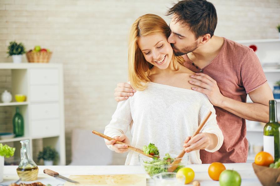 Strava partnerů před plánovaným otěhotněním a v době těhotenství matky