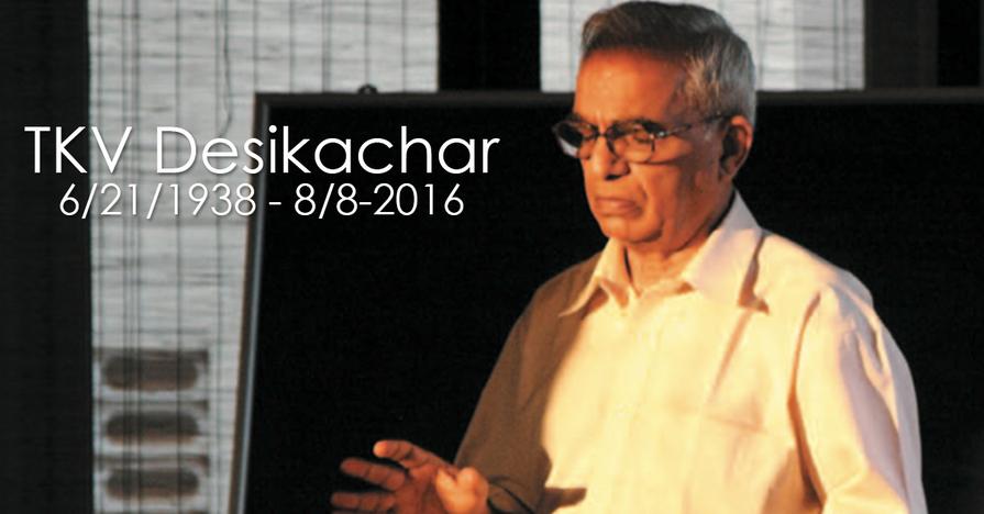 T. K. V. Desikachar – Terapie jógou