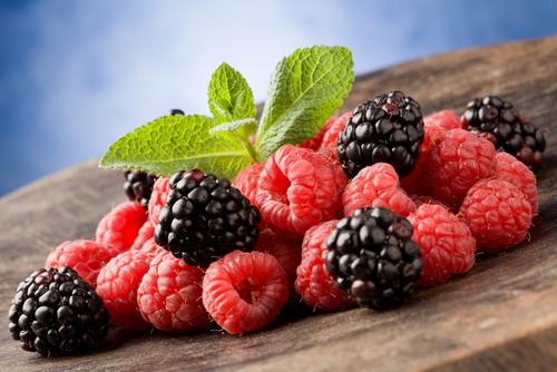 Maliny a ostružiny – plody nadupané antioxidanty