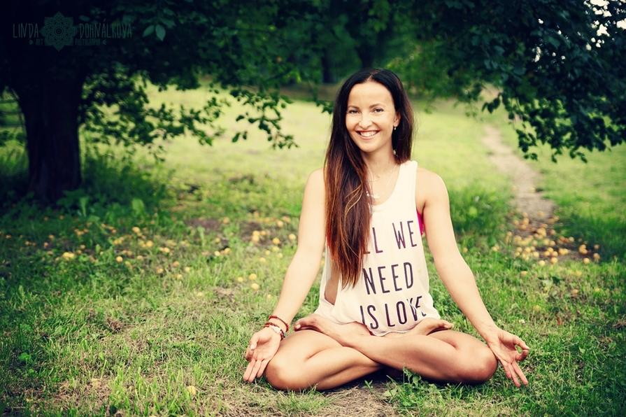 Má první jóga...Veronika Ševčíková